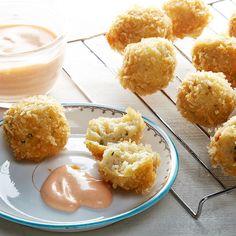 Make deep fried matzo balls for Hanukkah. Matzo ball soup just got a whole lot better.