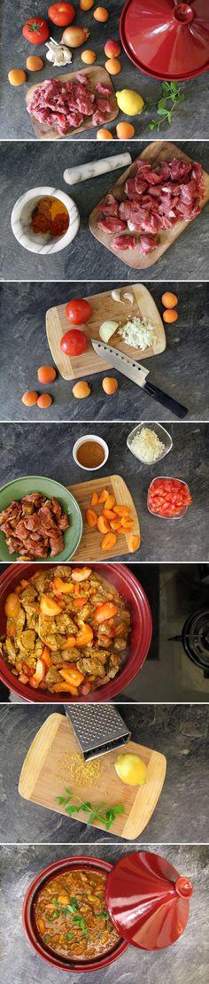 spottedkiwi.de | Lamm-Tajine mit Aprikosen - Rezept für ein süß-pikantes Lammgericht aus Marokko