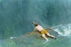 Devil's Pool On the Edge of Victoria Falls