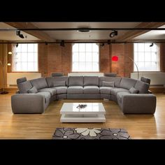 Massive Modern High Quality U Shape Sofa / Corner Group Grey 25 - Quatropi