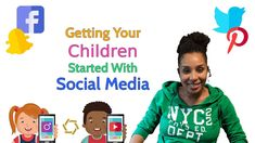 Getting Your Children Started with Social Media . . . . #workingmom #work #socialmedia #childrensocialmedia #media #marketing #teenagers #kids #familytalks