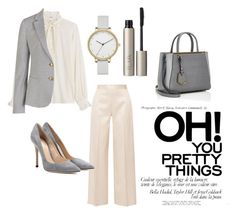 """""""Untitled #59"""" by amela83 ❤ liked on Polyvore featuring Closed, The Row, Fendi, Gianvito Rossi, GANT, Skagen and Ilia"""