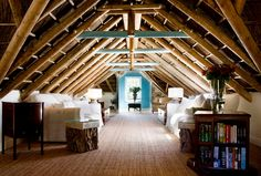 attic living....getaway room!
