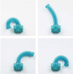 3ders.org - 3D printers help developing tentacle-like active soft robotics
