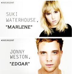 Suki Waterhouse and Jonny Weston join Insurgent