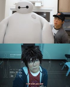 """Wait 'til my brother sees you""Big Hero 6 cosplayHiro • Jin (me) / Tadashi • Miguel / Baymax • Kerophotos by Reskiy» Part of our Big Hero 6 photo series (●—●)This movie means a lot to us, and we share our feelings through these pictures. Thank you to everyone who took a moment to look through them! If you want a behind-the-scenes peek: [x]"