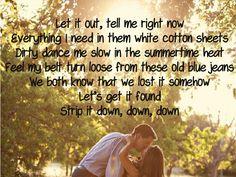 Luke Bryan - Strip It Down