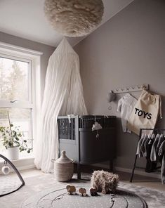 Love this gorgeous kid's room by 👈🏻 Midnatt organic duvet set available online 💫 . Baby Boy Rooms, Baby Bedroom, Baby Room Decor, Nursery Room, Kids Bedroom, Kids Decor, Room Inspiration, Kidsroom, Future
