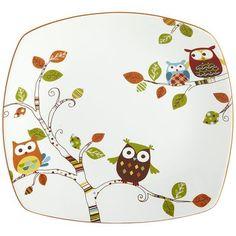 Owl Plate #owl #plate #ceramic