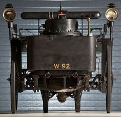 de dion runabout - the world's oldest running car 1884 - a steam-powered car
