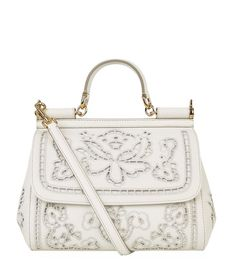 Dolce   Gabbana Medium Cut-Out Sicily Top Handle Bag available to buy at  Harrods 8c2fa25dfd30e