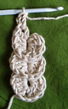 Crocodile stitch tutorial with pics #crochet