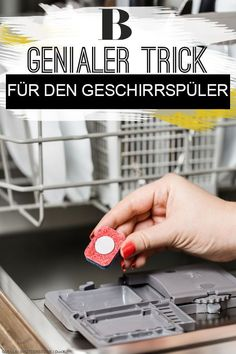 The dishwasher trick that no one knows - and that will change your life! - The dishwasher trick that no one knows – and that will change your life! Crafts For Teens To Make, Diy Crafts To Sell, Easy Crafts, Sell Diy, Kids Diy, Decor Crafts, 1000 Lifehacks, Clean My House, Organisation