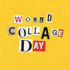 """M.W på Instagram: """"Today is World Collage Day! I will post my works up soon! Thanks to @arizonacollagecollective for the kit that was snail mailed!!…"""" Printable Coloring Pages, Snail, Collage, Kit, Creative, Blog, Instagram, Coloring Pages, Collages"""