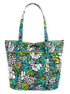 vera tote in island blooms, a new spring color! want.