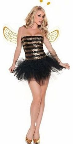 UK CLUB WEAR New women black and gold sequin bumble bee outfit hen night fancy dress costume clothing size 8 10 Sexy lady bumble bee outfit. We also have more beautiful items available in stock, please check our other items and we upload new product daily. Please contact us on phon (Barcode EAN = 5421003698547) http://www.comparestoreprices.co.uk/playboy-clothing/uk-club-wear-new-women-black-and-gold-sequin-bumble-bee-outfit-hen-night-fancy-dress-costume-clothing-size-8-10.asp