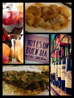 #sangria71 #hillsideave #willistonpark #longisland #foodie #delicioso #españa #olé #bacalao #bistec #vino #sangria #tgif #sonríe