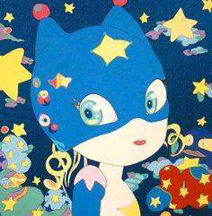 """""""Candy Girls Mk.Ⅱ-1"""" by Yoshitaka Amano http://en.wikipedia.org/wiki/Yoshitaka_Amano"""