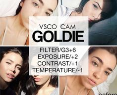 vsco cam filters tutorial