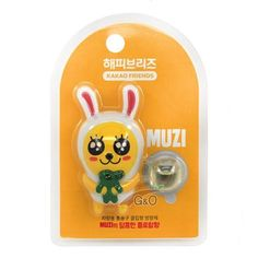 Kakao Talk Friends Ver.2 Cute Characters Car Vent Clip Air Freshener Muzi…
