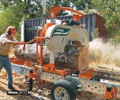 Norwood Sawmills Home Sawmilling