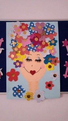 Want to know more about unique mothers day crafts Kids Crafts, Crafts To Make, Arts And Crafts, Paper Crafts, Child Day, Mothers Day Crafts, Art Activities, Spring Crafts, Diy For Kids