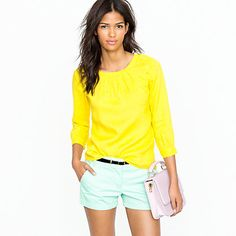 Bright colors are TOTALLY IN!