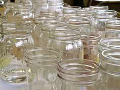 Did you know there are more ways to use a mason jar than just for canning? They are sturdy, they come in a wide variety of shapes and sizes, they can often be found inexpensively, and best of all? They are a completely non-toxic way to store things in my kitchen!