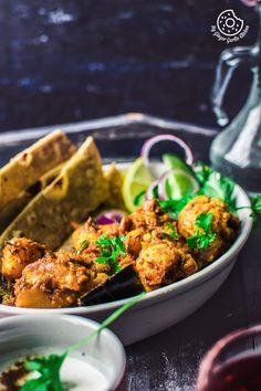 Dhaba Style Dry Aloo Gobi Sabji | Aloo Gobi | with cauliflower mygingergarlickitchen.com/ @anupama_dreams