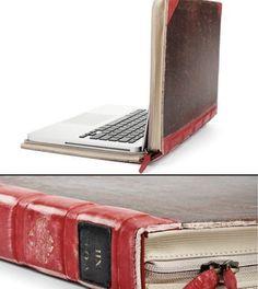 Nifty idea for a DIY laptop case!?!?