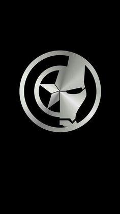 Popular Avengers Logo Wallpaper For Lockscreen Marvel Avengers, Marvel Comics, Marvel Memes, Marvel Logo, Iron Man Wallpaper, Hd Wallpaper, Marvel Captain America, Iron Man Captain America, Captain America Tattoo