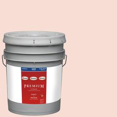 Glidden Premium 5-gal. #HDGR56D Light Blush Satin Latex Interior Paint with Primer