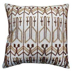 Beaded Pillow White - Nate Berkus™ : Target