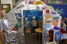 """Space Thematic Unit Dramatic Play....Follow for Free """"too-neat-not-to-keep"""" teaching tools & other fun stuff :)"""