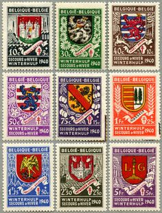 Creativity Exercises, Postage Stamp Art, Free Graphics, Journal Covers, Stamp Collecting, Coat Of Arms, Vintage Type, Poster, Art Designs