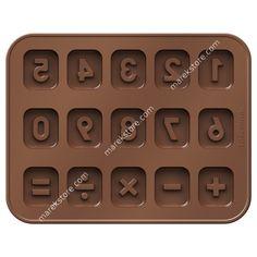Foremki do czekolady DELÍCIA KIDS, cyferki   Tescoma   32,90 zł