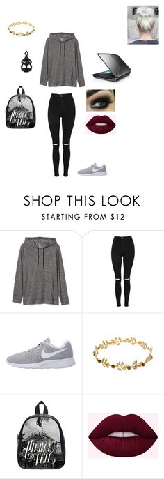 """""""Quick Creation"""" by bethm2109 on Polyvore featuring Gap, Topshop, NIKE and The Rogue + The Wolf"""