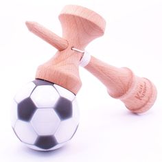 Soccer Ball Kendama White & Black Most Popular Sports, Christmas Wishes, Soccer Ball, Games, Sweet, Kids, Black, Candy, Young Children