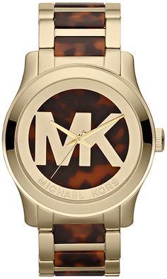 MK5788 - Authorized michael kors watch dealer - Oversized michael kors Runway Logo, michael kors watch, michael kors watches