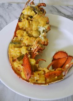 Child's Lobster Thermidor Lobster Thermidor - a French classic from the as interpreted by Julia Child.Lobster Thermidor - a French classic from the as interpreted by Julia Child. Lobster Dishes, Lobster Recipes, Fish Dishes, Seafood Dishes, Fish And Seafood, Lobster Dip, Lobster Pasta, Grilled Lobster, Lobster Bisque