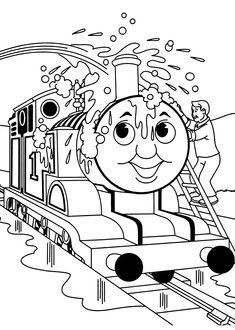 Thomas Coloring Pages Movies And Tv Coloring Pages Pinterest
