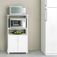 online shopping for Gatley Kitchen Pantry Ebern Designs from top store. See new offer for Gatley Kitchen Pantry Ebern Designs Microwave Cabinet, Microwave Cart, Pantry Cabinets, Door Storage, Storage Spaces, Tall Cabinet Storage, Small Oven, Cabinet Space, Kitchen Pantry