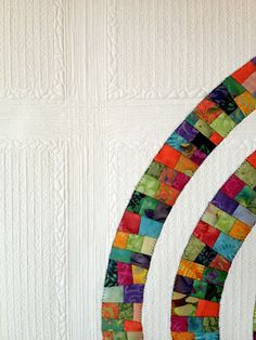 Maybe the coolest quilting ever. From thatcrazyquiltygirl.blogspot.com