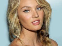 Natural bronze make up look