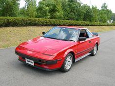 1984 Toyota MR2 MK1 (via @toyota_europe)
