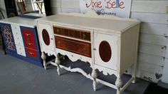 Check out this item in my Etsy shop https://www.etsy.com/listing/248377771/antique-buffet-painted-with-dixie-belle