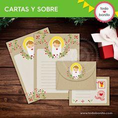 Niño Jesús: papeles de carta y sobre - Todo Bonito Toy Story, Hula, Ideas Para, Decoupage, Frozen, Toys, Christmas, Ideas Creativas, Minnie Mouse