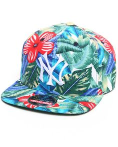 American Needle Men New York Yankees Kona Snapback Hat Multi 1SZ