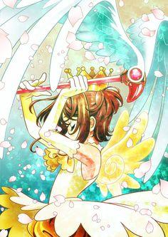 A Cardcaptor Sakura fanart I made for Kamcao. Cardcaptor Sakura, Syaoran, Sakura Sakura, Fotos Do Anime Naruto, Manga Anime, Sakura Card Captors, Arte Sailor Moon, Xxxholic, Clear Card