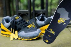 Shelflife x New Balance Dr.Z ML574 'City of Gold' | Now Available | Foot Patrol